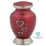 Loving Hearts Keepsake Urn