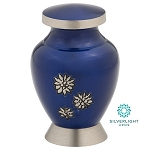 Flowers of Peace Keepsake Urn