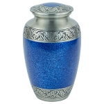 Capital Brass Urn - Blue/Pewter