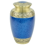 Capital Brass Urn - Blue/Gold