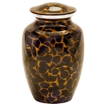 Tiger Eye Aluminum Urn - Medium