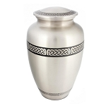 Celtic Band Brass Urn