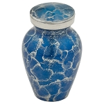 Blue Tiger Eye Keepsake Urn