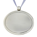 Urn Pendant in Bright Silver
