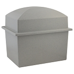 Crowne Urn Vault Double - Gray