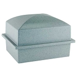 Crowne Compact Urn Vault for Box Burial - Gray