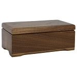 Concord Walnut Keepsake Box