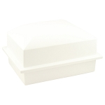 Crowne Urn Vault Single - White