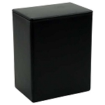 Black Temporary Container