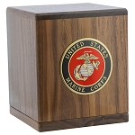 Freedom Walnut Cremation Urn