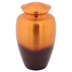 Sunset Brass Cremation Urn