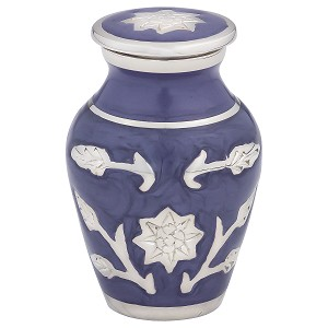 Grace Lavender Blue Keepsake Urn