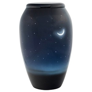Evening Sky Aluminum Urn