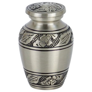 Coronet Pewter Keepsake Urn
