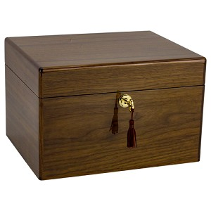 Devotion Walnut Chest Urn - Howard Miller