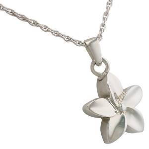 Petite Flower Cremation Jewelry