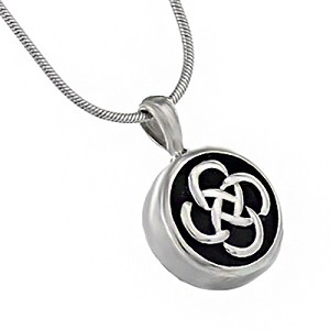 Celtic Knot Cremation Jewelry Pendant