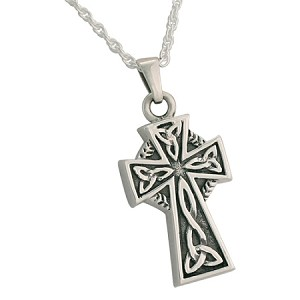 Celtic Cross Cremation Jewelry