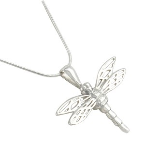 Dragonfly Cremation Jewelry Pendant