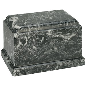 Ebony Olympus Cultured Marble Urn