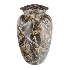 Lost Camo Cremation Urn